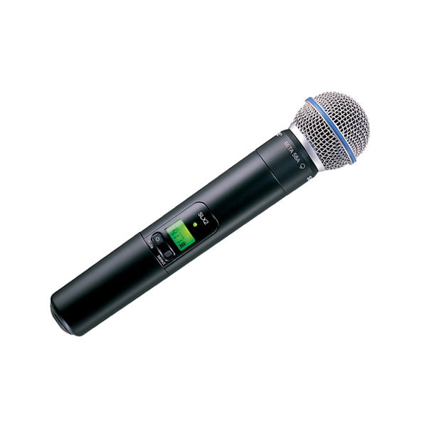 shure slx beta 58 handheld radio microphone system twisted audio. Black Bedroom Furniture Sets. Home Design Ideas